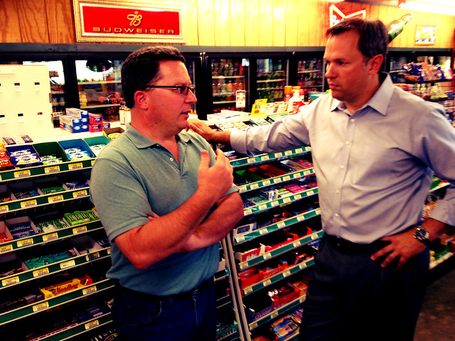 With Mike Smith talking about the economy. Mike is the owner of Twin's Country Mart, the unofficial hub of Person County.