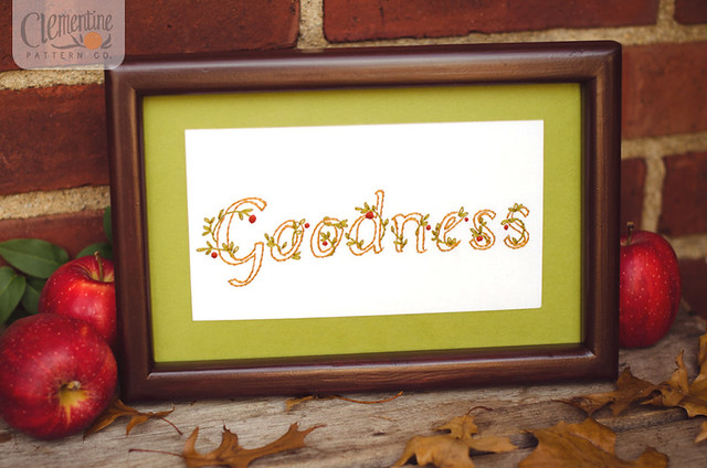 Goodness by Clementine Patterns
