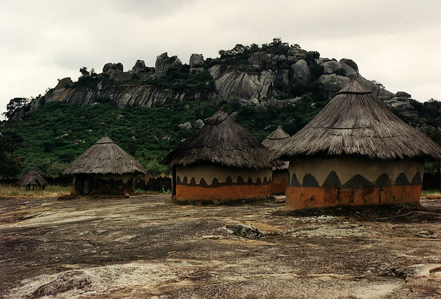 Great Zimbabwe Huts