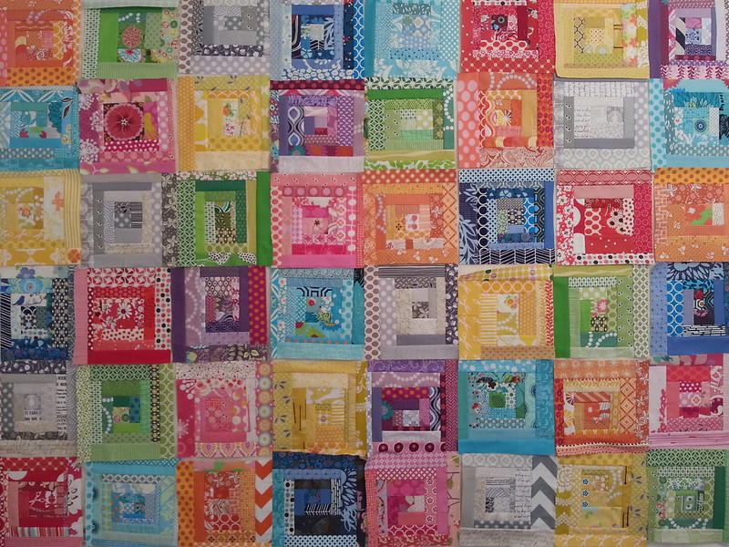 scrappy stash quilt along