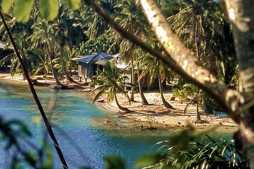 Honduras, Roatán Island Beach Huts
