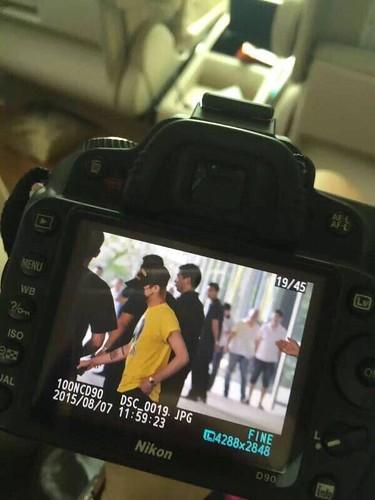 BIGBANG lArrival Shenzhen from Seoul 2015-08-07 025
