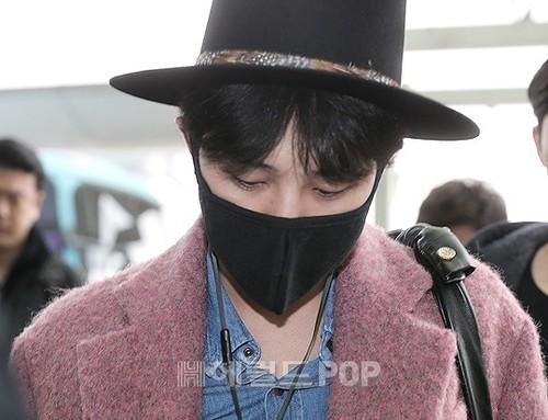 Big Bang - Incheon Airport - 21mar2015 - G-Dragon - Herald Corp - 08