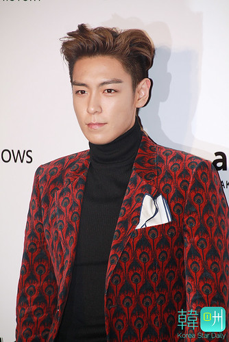TOP - amfAR Charity Event - Red Carpet - 14mar2015 - Korea Star Daily - 07
