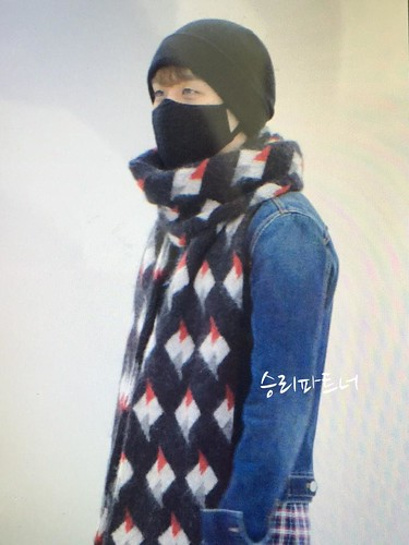 Big Bang - Gimpo Airport - 15jan2015 - Seung Ri - Partnervi - 01