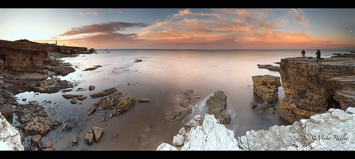 sunset panorama whitburn