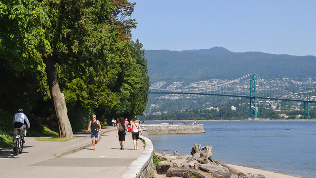 Stanley Park, Vancouver by CC user skinnylawyer on Flickr