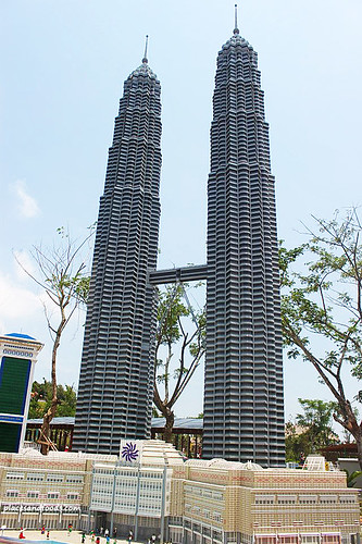 Legoland Twin Tower