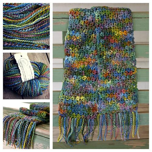 yarn to scarf salamander