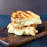 Grilled Hatch Chile Pimento Cheese Sandwiches