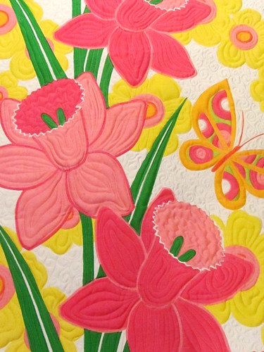 daffodil quilt by nanotchka