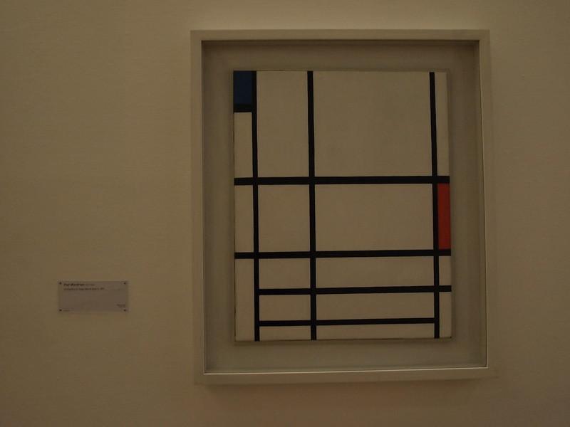 Piet Mondrian, Tableau, 1921