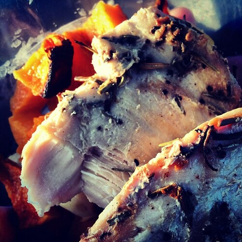 Followed by post-wod moms of chicken and butternut squash. #whole30 #paleo