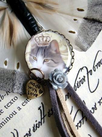 Pregadeira Princess Cat by kideias - Artesanato