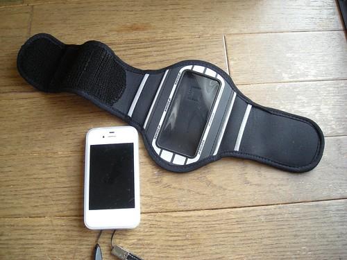 iPhone用アームバンドホルダー