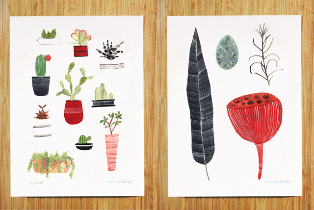 Succulent and Collection art prints