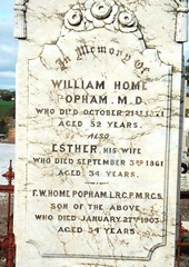 st georges anglican cemetery  Dr Popham