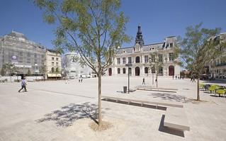 Plaza del Mariscal Leclerc. Foto: Sébastien Laval.