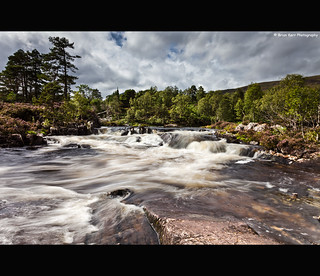 The Falls Of River Affric