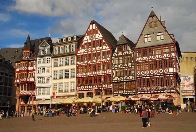 Romerberg Platz_Frankfurt