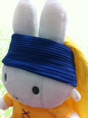 Miffy with a Pearl Earring