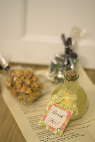 Madrona Manor gift - caramel popcorn, chocolate, homemade limoncello