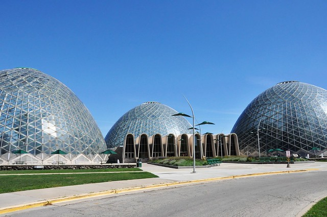 Mitchell Park Conservatory (The Domes), Milwaukee