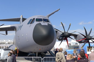 Bug und Triebwerke: Airbus A400M