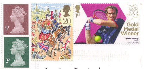England Stamps-2012 Olympic Stamp