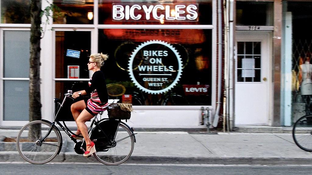 Bikes On Wheels Toronto THE DAY Bikes on Wheels