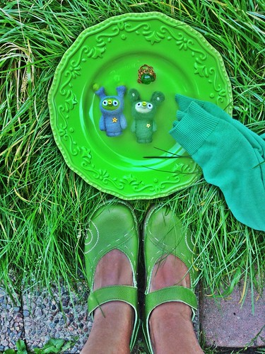 shoe per diem sept 16, 2012 - seven shades of green
