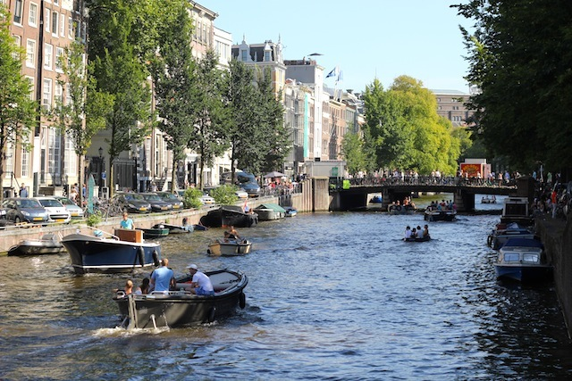 Boats on Herengracht