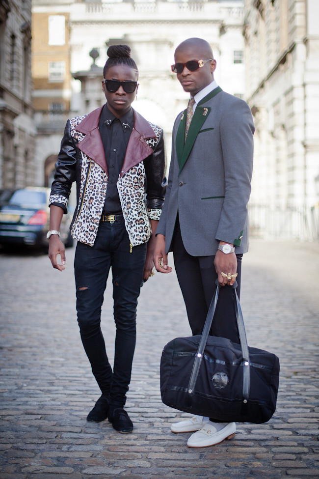 London Fashion Week dapper dudes 1