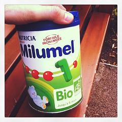 Boite de lait Milumel Bio