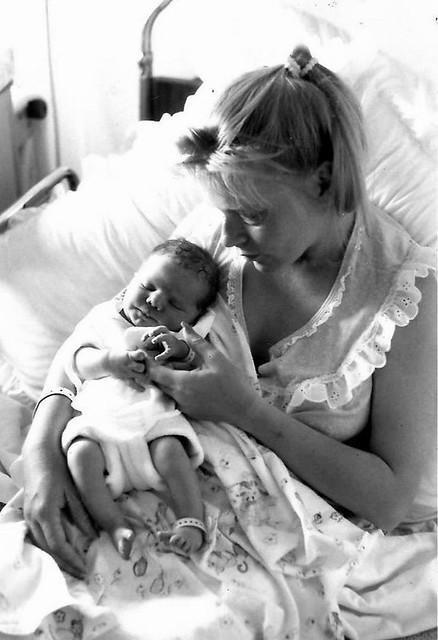 Jesse  newborn (B/W)