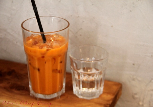Teakha Thai iced tea by Chic n Cheap Living