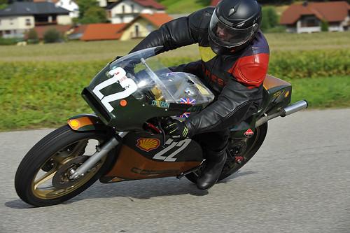 Cotton Rotax classic motorcycle Oldtimer Grand Prix 2012 Schwanenstadt Austria Copyright B. Egger :: eu-moto images 0254