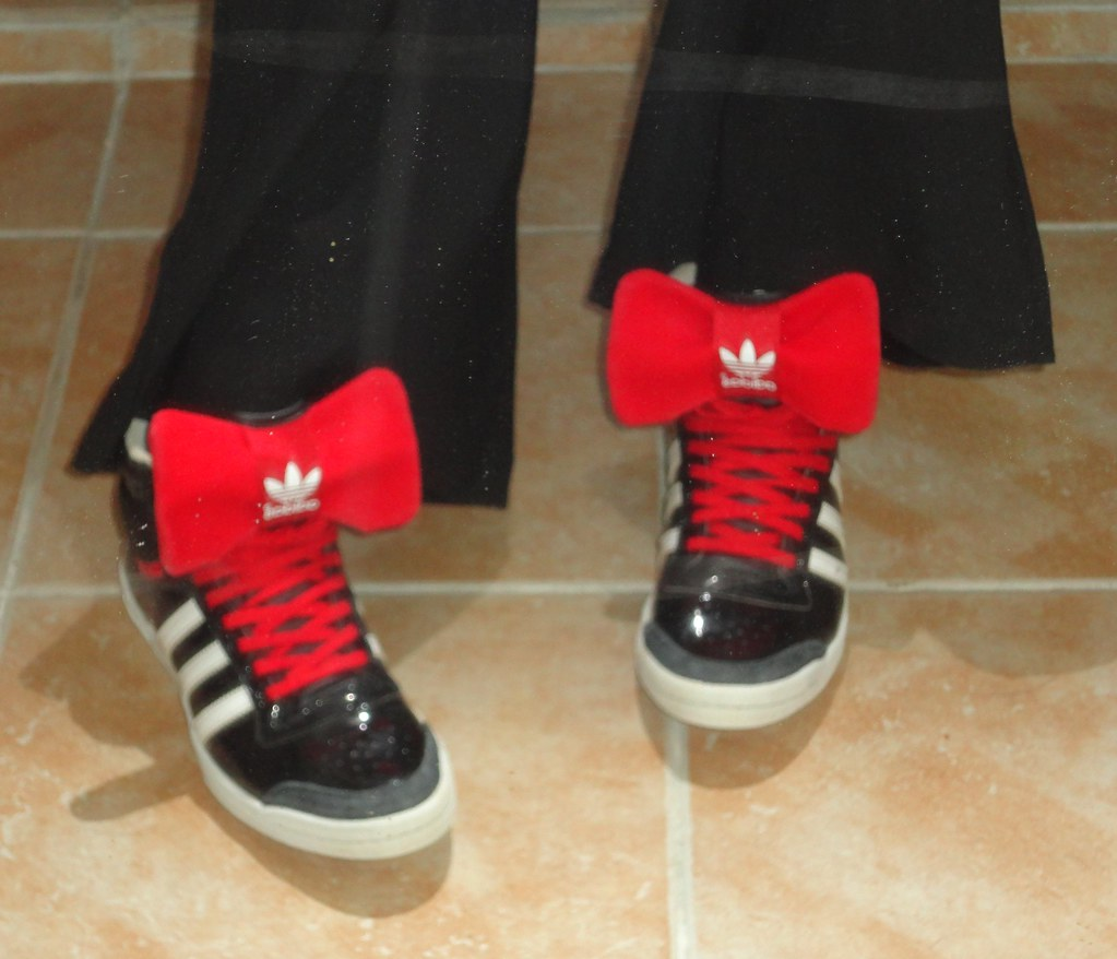 Adidas Top Ten Hi Sleek noeud Rouge   dywenn^^   Flickr
