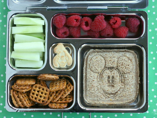 Mickey sandwich in a PlanetBox