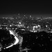 Downtown LA from Mulholland Drive by moremooredesign