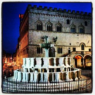 Image of Fontana Maggiore near Perugia. fontana perugia umbria centrostorico fontanamaggiore