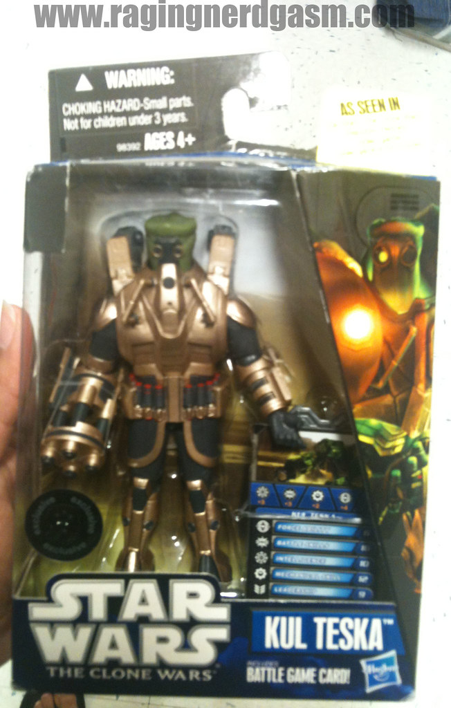 Star Wars The Clone Wars Kul Teska by Hasbro012