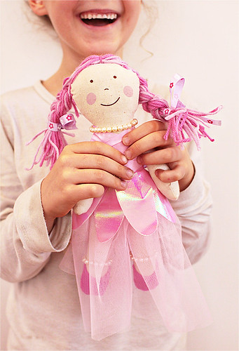Doll studiogirl craft pink happy
