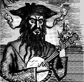 Blackbeard Banjo by paynehollow