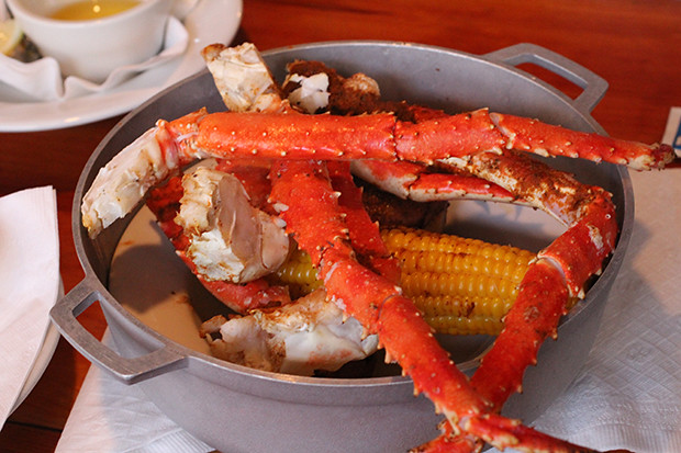 King Crab Meal, Mar Vista, Restaurant Review, Longboat Key, FL