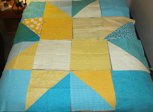 Monica's Comfort Quilt layout