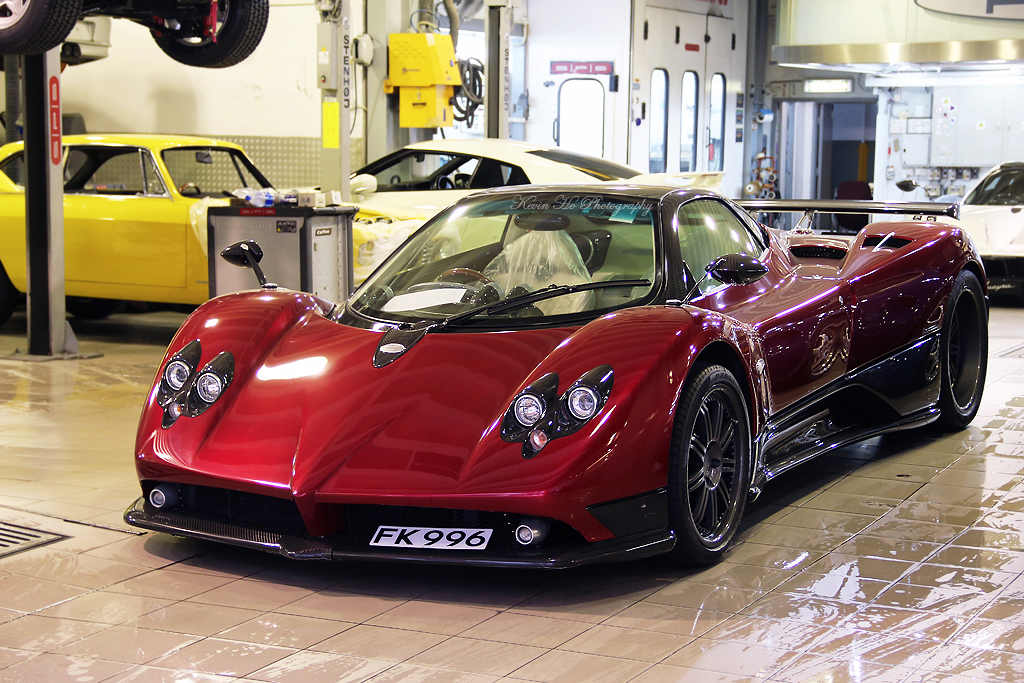 pagani zonda f red beige 76084 rhd forum pagani. Black Bedroom Furniture Sets. Home Design Ideas