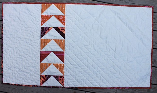Friendship bracelet quilt
