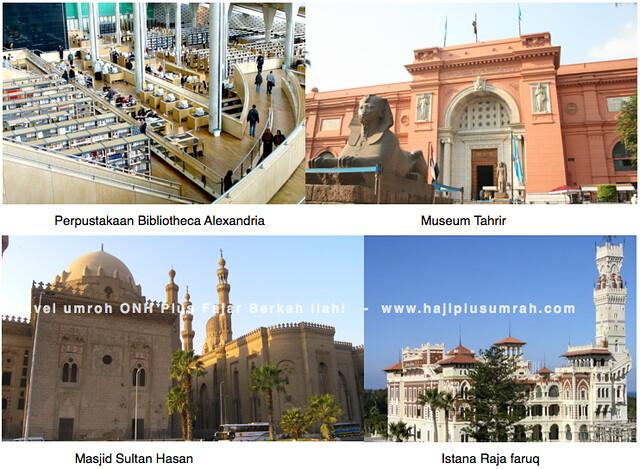 istana-raja-faruq-mesir-Alexandria-Bibliotheca-Museum-Tahrir-Masjid-Sultan_hasan-Mesir