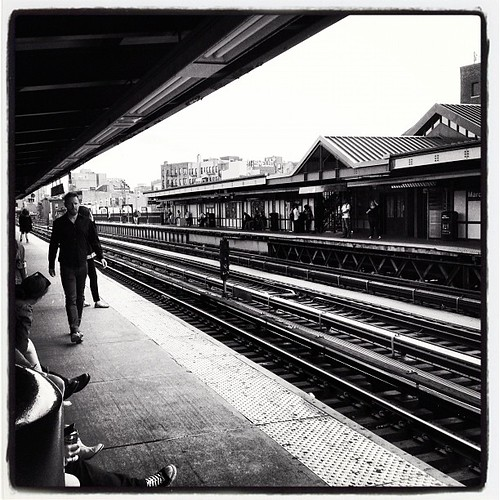 Marcy Ave Subway stop in Williamsburg Brooklyn, NY